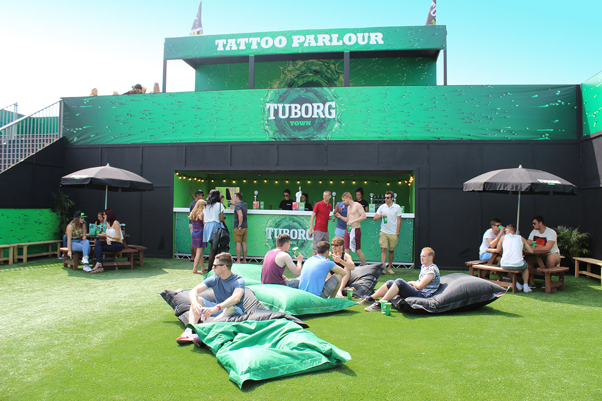 Media Structures Tuborg Town