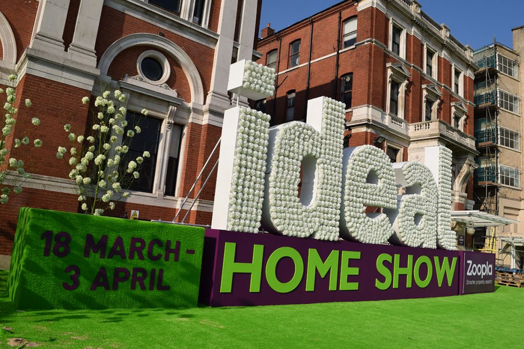 The Media Structures Team Take on the Ideal Home Show!
