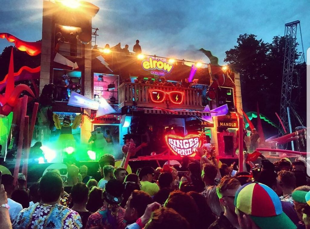 Using festival structures to stand out from the crowd