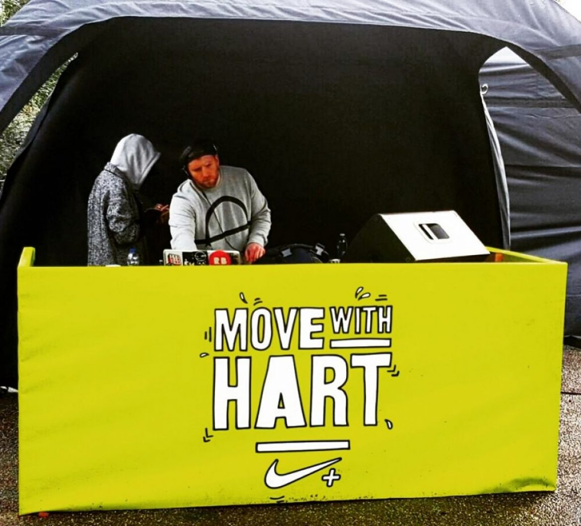 #RunWithHart: Media Structures Team with Kevin Hart and Nike+